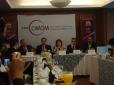 José Carreño, Manuel Alejandro Guerrero, Regina Santiago, Mauricio Meschoulam, Jorge Rendón Conferencia de prensa 5 jun 2012 (2)