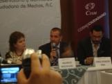 Regina Santiago, Mauricio Meschoulam, Jorge Rendón conferencia de prensa 5 junio 2012
